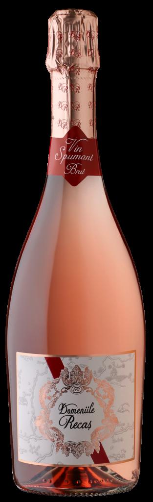 Domeniile Recas-Spumant-roze
