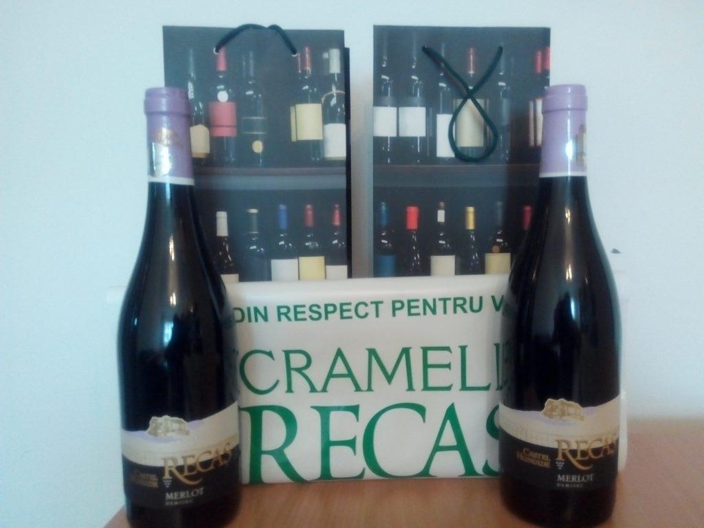 Vinuri premiate de calitate Cramele Recas