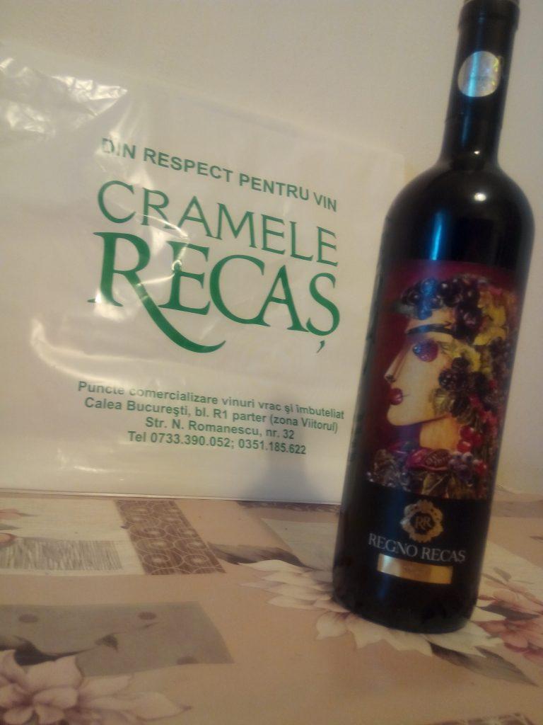 Vin rosu Craiova Syrah Regno Recas